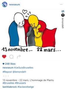 Newseum Brussels Instagram Post