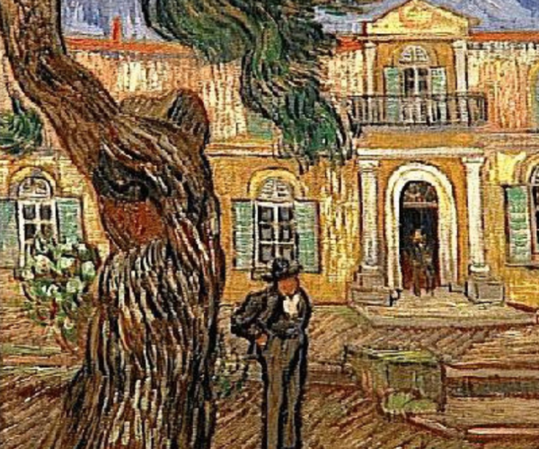 Van Gogh's home at Saint Rémy