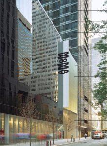 MoMA 53rd St entrance