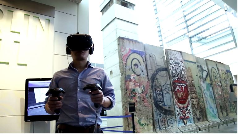 Berlin Wall VR at Newseum